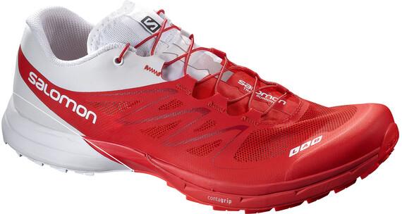 Salomon S-Lab Sense 5 Ultra Shoes Unisex Racing Red/White/Red